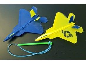 F22 Raptor Glider
