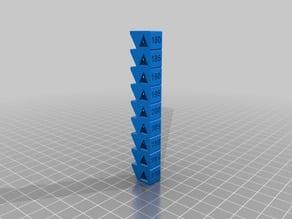 PLA Temperature Calibration Tower