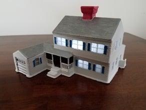Glen Christmas Village House