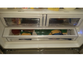 Pergo Samsung Fridge Leftover Drawer Repair RFG297AARS