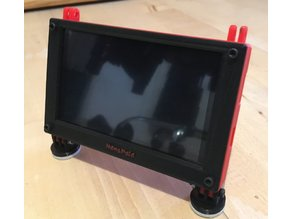 Case / Frame for Raspberry Pi screen/monitor 5 inch 800x480
