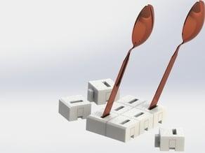 customizable spoon holder
