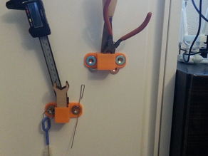 Printer Tool holder (magnetic and moveable)