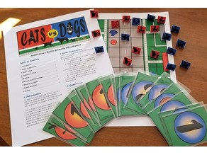 Cats Vs Dogs Board Game