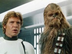 Han and Chewbaca lithophane