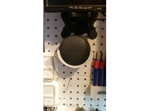 Google Home Mini Pegboard Mount