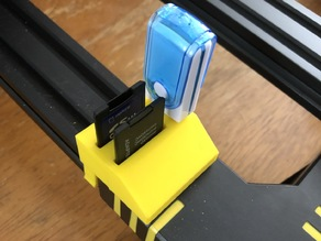 Anycubic Chiron USB and SD card holder