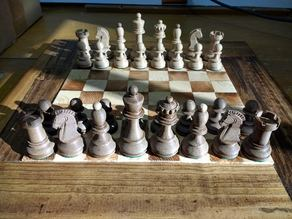 Dubrovnik I Chess Set (1950)