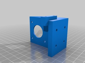 Wilson II Titan Extruder with BLTouch mount