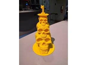 Celtic Skull stack trophy