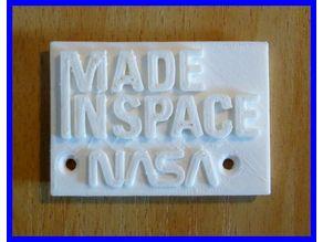 Made In Space, NASA-original.