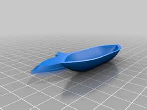 Floating boat hull