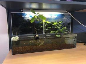 Aquarium filter box