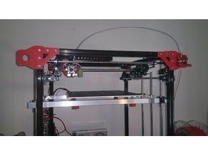 Flsun Cube top frame stabalizors