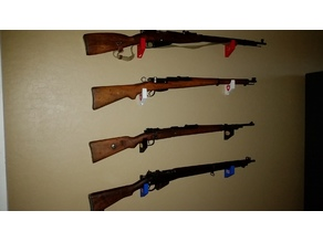 Rifle Wall Hanger