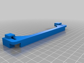 Glass bed clips for CTC bizer / CTC dual / Flashforge creator X / Replicator