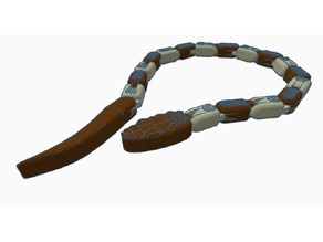 Articulated Snake (Dual_Extrusion)