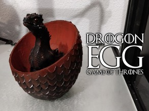 Drogon Egg ( Game of thrones )