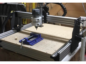 OX CNC Y-Axis Gantry plate 2""
