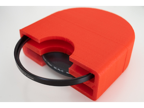 Box for two 72mm photo filters