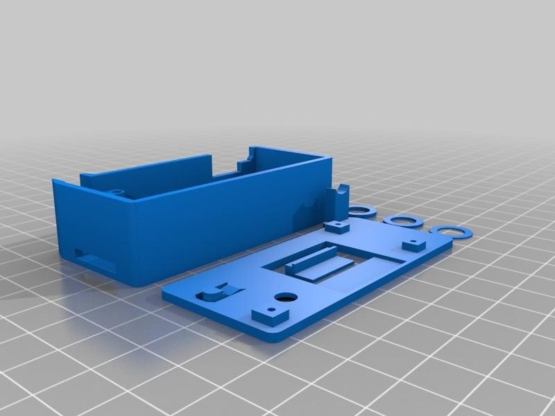 Updated: ESP32 LoRa TTGO V2 LilyGO TTN OLED Case by decoder