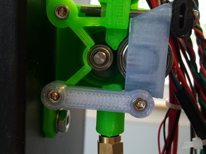 Airtripper BSP Extruder (Main Body) for flexible plastic with 4mm hole