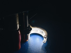 LED Bracket for the Printrbot Simple Metal