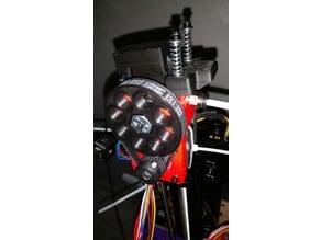 Cyborg Geared Bowden Extruder Remix GT2