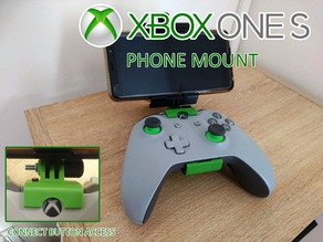 Xbox one S controller phone mount