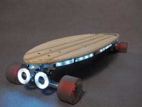 Trinket NeoPixel LED Longboard