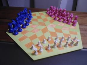 Three-Player Chess - Print only version