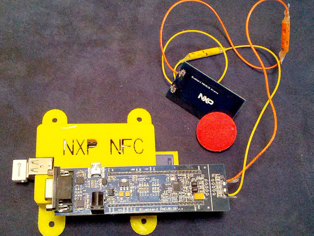 Box Case for RFID / NXP NFC Controller for Raspberry PI by