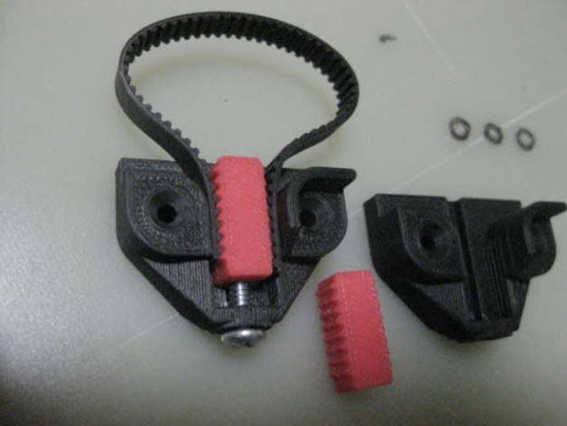 Belt Tensioner/Clamp - Precision by rbilbrey - Thingiverse