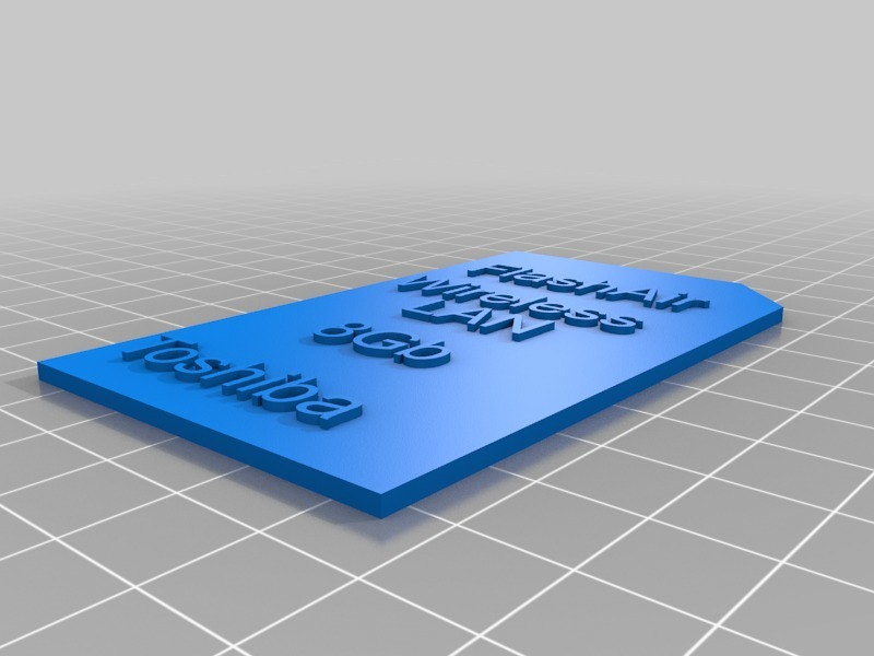 WIFI SD Card for 3D Printer (FlashForge Creator Pro 2016) by