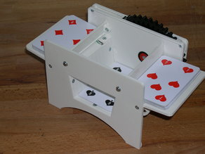 Spielkartenmischer / Card shuffler