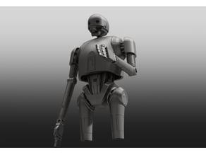 Robot upper leg inspired by K2S0
