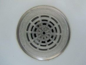 Hair trap for shower drain