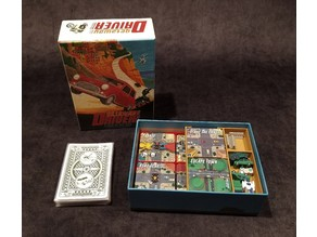 Streets of Turin - Board Game Organizer for Getaway Driver from Store All The Bits