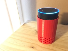 Echo Dot + Anker SoundCore Mini Stand