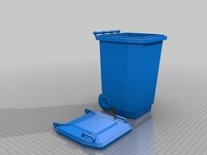 Aussy wheely bin