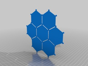 Hex grid template