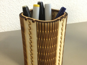 FlexiRoast Wooden Pen Stand