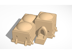 3 larger Tatooine Huts (x-wing) version 0.18
