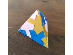 Puzzle Tetrahedron Six
