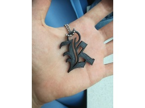 Death Note Kira necklace