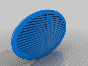 Ventilation Grille oval for ZAPF - Garage