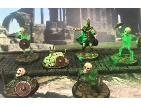 Necromancer's Undead Skull & Weapons resurrection pile, Objective / Marker