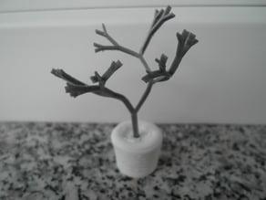 Parametic Artificial Tree Math art