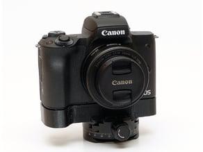Canon EOS M50 grip with Arca Swiss rail