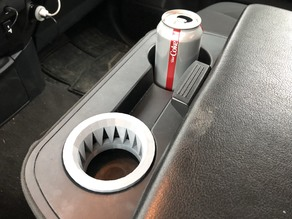 Cup holder insert for Nissan Titan